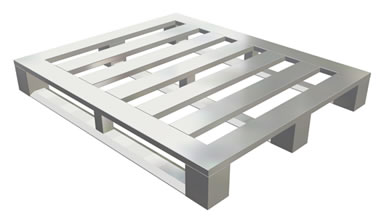 4 Way 3 Runner MD Block Aluminum Pallet This Is Used For Medium Duty Applications More Info Here
